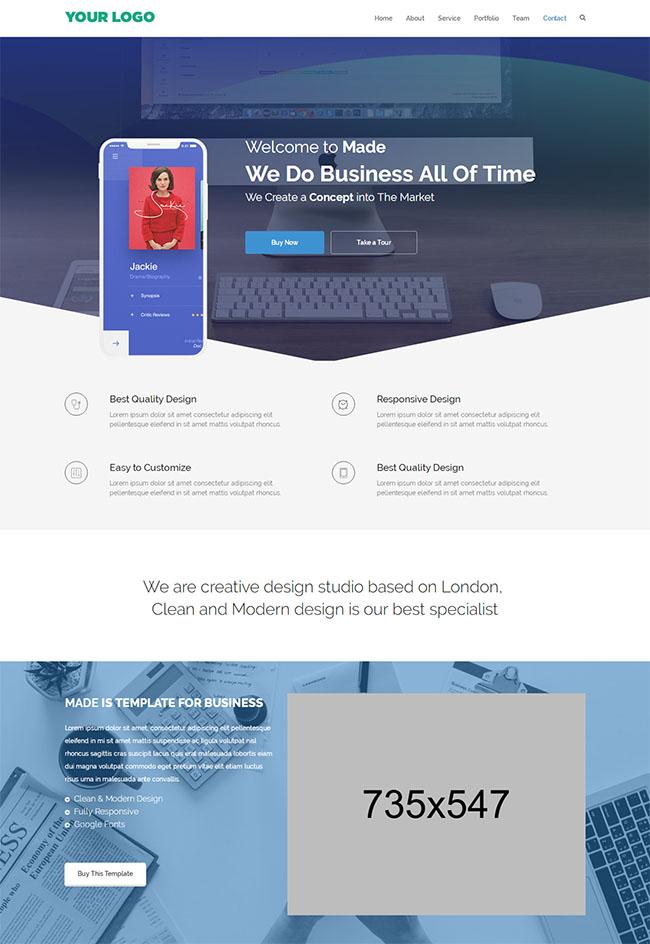 VI设计公司企业官网模板