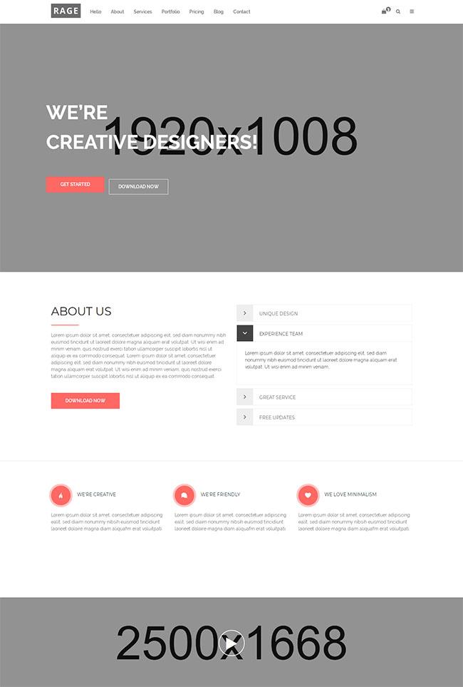 数字营销机构公司网站模板