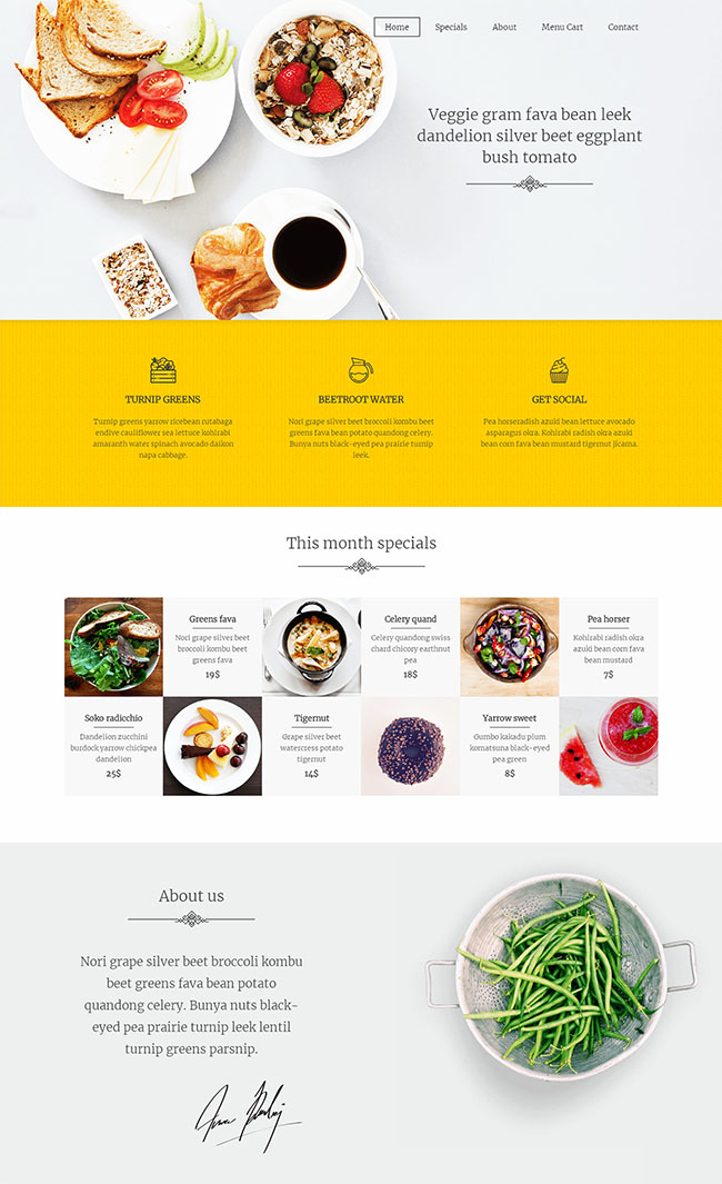 蔬菜预定配送O2O网站模板