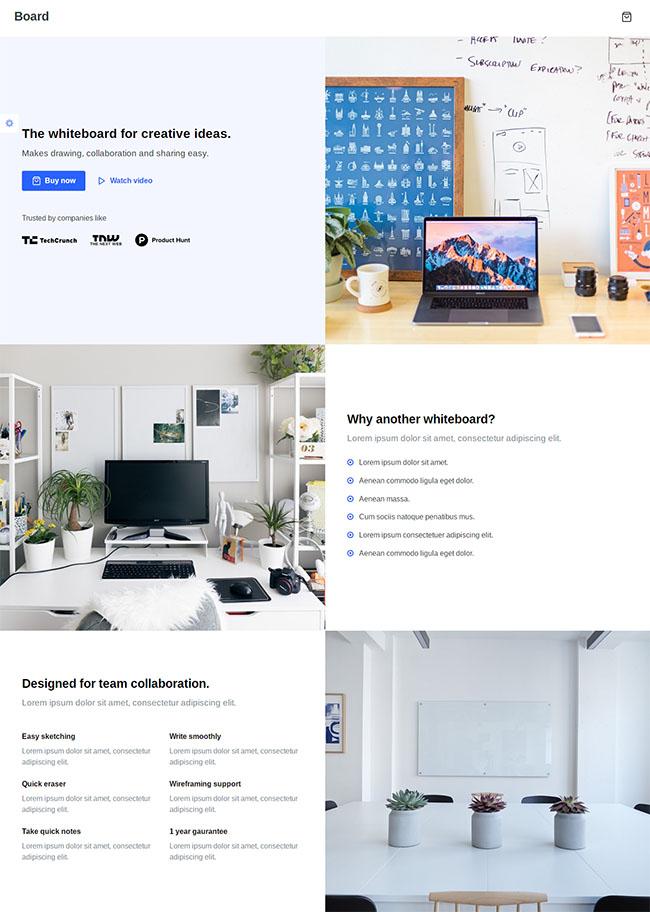 宽屏自适应网络营销公司模板