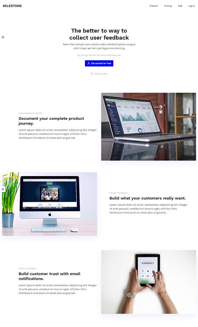 宽屏精品企业建站网站模板
