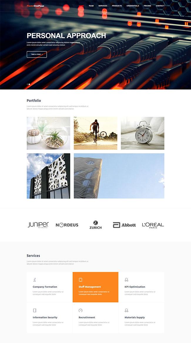 有线宽带线厂家网站模板