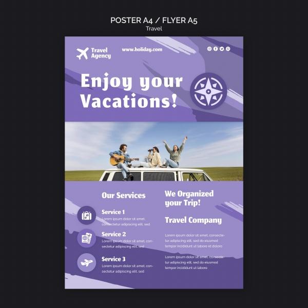 旅行社宣传海报设计
