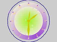 創意指針時鐘flash動畫