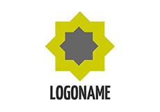 轉動的LOGO標志flash動畫