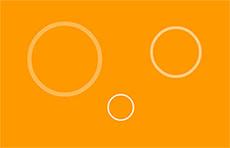 圓圈水紋透明flash動畫