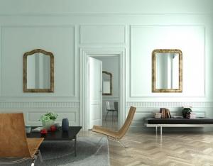 簡歐客廳3D模型