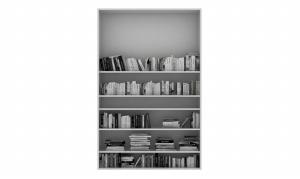 書柜3D模型設計