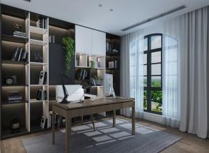 現代書房3D模型設計