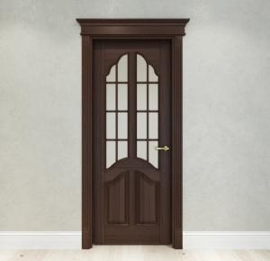 棕色室內門3D模型