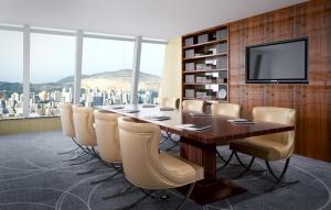 商務會議室3D模型設計