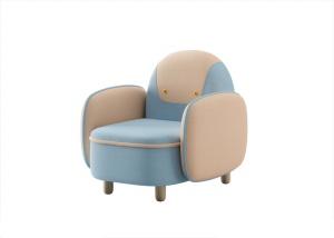 淺藍色可愛沙發模型