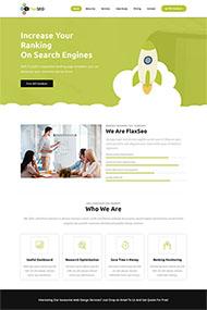网站优化公司HTML5模板