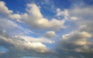 藍天白云朵圖片