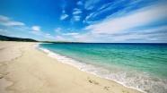 藍天碧海唯美風景圖片