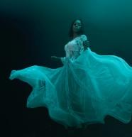 性感婚紗美女人體藝術圖片