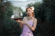 歐美白皙美女寫真圖片