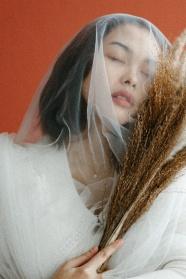 日系唯美女生人體藝術攝影