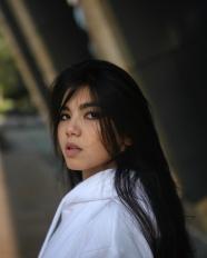 清冷風亞洲美女圖片