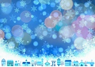 圣誕節璀璨星光背景圖片