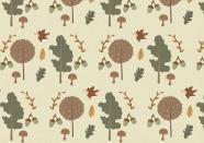 秋天元素背景圖片
