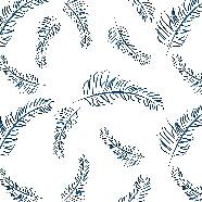 藍色羽毛背景免摳素材