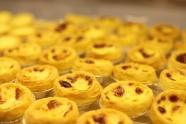 金黃色蛋撻圖片