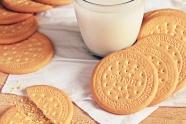 牛奶餅干圖片