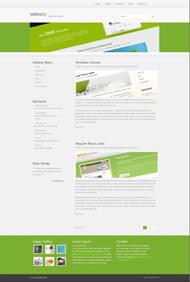 綠色設計HTML模板下載