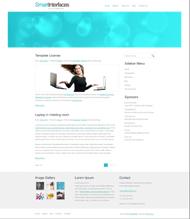 簡潔主頁HTML模板下載