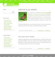 綠色清新HTML模板下載