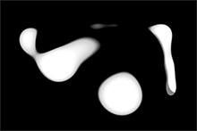 鼠標白色液體繪畫webgl特效