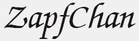 zapfchan字體
