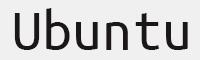Ubuntumono字體
