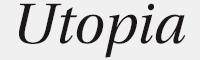 UtopiaStd字體