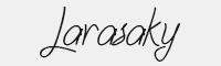 Larasaky字體