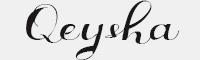 Qeysha Script字體