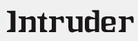IntruderAlert字體