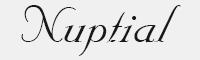 nuptialbt字體