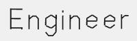 ENGINEER字體