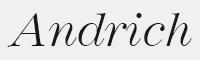 andrich字體