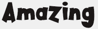 Amazing-Kids1字體