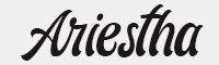 ariestha-script字體