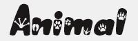 AnimalPaws字體
