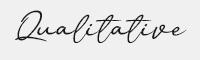 Qualitative字體