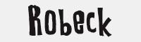 Robeck字體