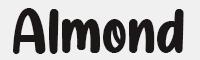 almond-nougat字體