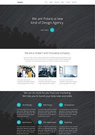 設計機構官網CSS3模板