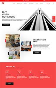 大气二手房产销售网站模板