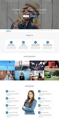 图片设计师交易网站模板